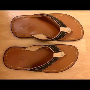 Authentic Louis Vuitton Men's Leather Sandals